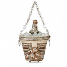Mary Frances Champagner Bag
