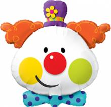 Folienballon Clown ca. 90cm