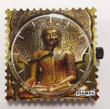 S.T.A.M.P.S. - Uhr 'Pali' Buddha