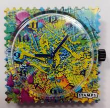 S.T.A.M.P.S. - Uhr 'Painting'