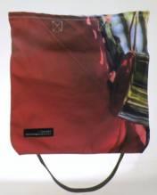 Totebag / Einkaufstasche aus recycelten Materialien