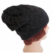 Beanie Haube, Farbe schwarz, bei Lederbekleidung Paschinger kaufen