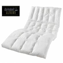 Daunen-Decke 'Dormabell CL 800', Maße: ca. 135cm x 200cm, 100% weiße, feinste Daunen, Bezug: 100% reine Baumwolle