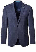 Pierre Cardin Sakko, 52261 810 55849 3050 , bzw. auch als Anzug erhältlich, futureflex, blau karo, erhältlich bei Mode Schönleitner Gmunden
