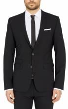 Digel Sakko Neo, Air , auch als Anzug erhältlich, Neo, 99859, extra slim fit, schwarz, atmungsaktiv, federleicht, knitterfrei, dehnbar, Wasser abweisend, dehnbar,erhältlich bei Mode Schönleitner Gmunden