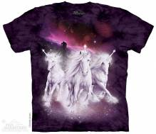 Cosmic Unicorns Mountain Kinder T-Shirt