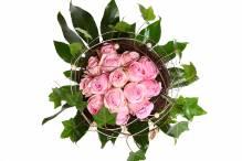 'Heidi' Blumenstrauss mit Heidirosen