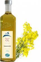 Sonnenweide kalt gepresstes Rapsöl, aus teilgeschälter Rapssaat mit natürlichem Butteraroma