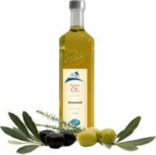 Rosmarinöl Olio extra vergine d'oliva al rosmarinonatives Olivenöl extra mit Rosmarinextrakt