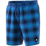 Herren Badeshort Adidas Check ML Farbe: marine/royal