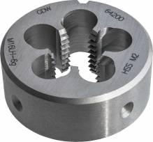 Präzisions Schneideisen HSS, DIN EN 22568, Metrisches ISO-Feingewinde nach DIN 13... M 2 x 0,25 (Schälanschnitt) 6g-RH  DxE, 16x5