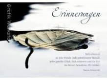 Trauerkarte 'Erinnerung'