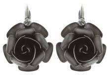 Konplott Ohrring Indian Roses grey