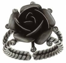Konplott Ring Indian Roses grey