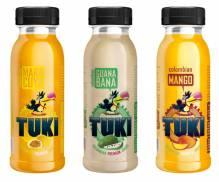 TUKI - Maracuya, Mango, Guanabana Pack 5x3 250ml Flaschen (15 Flaschen)