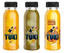 TUKI - Lulo, Maracuya, Mango - Pack 5x3 Flaschen à 250ml (15 Flaschen)