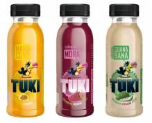 TUKI - Maracuya, Guanabana, Mora Pack 5x3 250ml Flaschen (15 Flaschen)
