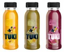 TUKI - Maracuya, Lulo, Mora Pack 5x3 Flaschen à 250ml (15 Flaschen)