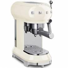SMEG Cafetière Espresso Design Line Style Style The 50° Years Cream