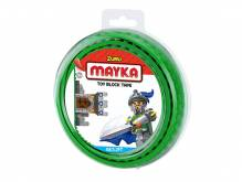 mayka - Klebeband für LEGO - dunkelgrün