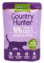 Natures Menu Cat Country Hunter Pute & Kaninchen 85g