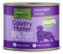 Natures Menu Country Hunter Pute vom Bauernhof 600g