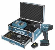 MAKITA DDF343RYX2 Kombinationskit mit LXT 14.4V Batterie Bohrschrauber