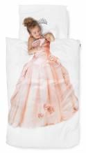 Kinderbettwäsche – Prinzessin | 135 x 200cm