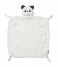 Schmusetuch – Weißer Panda 'Agnete'