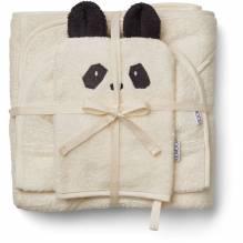 Kinder Frottee Geschenk-Set – Panda