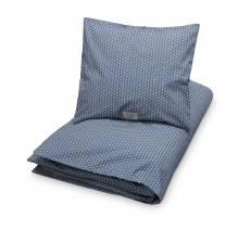 Baby-Bettwäsche Bio-Baumwolle – Sashiko Blau 100 x 70cm