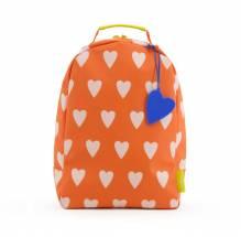 Kinder-Rucksack 'Love' – Rot mit rosa Herzen