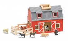 Fold & Go Holz Bauernhof zum Mitnehmen