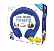 Megagic - CA3 - Stereo-Kopfhörer für Kinder mit Lautstärkeregler - Wie die Großen - Blau