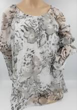 iSilk Bluse 6201 91 Seidenbluse Rundausschnitt, 100% Seide, erhältlich bei Mode Schönleitner Gmunden