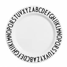 Teller Stillen & Füttern Design Letters