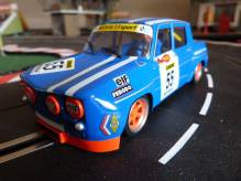 BRM079 Renault R8 Gordini No. 55