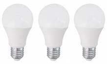 E27 / 10 W / 800 Lumen LED-Leuchtmittel 3er Set