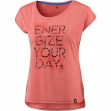 Odlo Damen T-Shirt Helle s/s Farbe: dubarry melange 350061