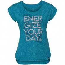 Odlo Damen T-Shirt Helle s/s Farbe: crystal teal melange 350061