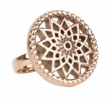 Traumfänger Stahl rose TFR01RO ring Größe 58