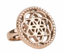 Traumfänger Stahl rose TFR02RO ring Größe 56