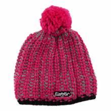 Eisbärmütze Klio mit Ponpon pink 383129