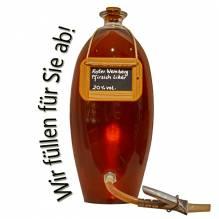 Laux 'Roter Weinbergpfirsichlikör' 20% vol, in verschiedenen Flaschenformen und Mengen!