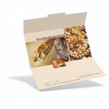 Gutschein für ein Geschenk   von Juwelier Rehermann , persönlich und doch praktisch