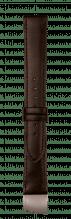 Uhren – Armbänder – Leder  100 % Made in Germany aus der Manufaktur Kaufmann - BOXCALF-braun