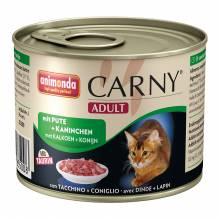 animonda Carny® Adult mit Pute + Kaninchen
