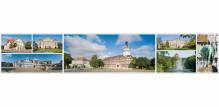 Panoramapostkarte  Wolfenbüttel Impressionen
