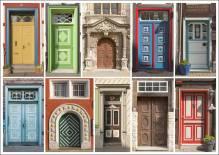 Postkarte WF Wolfenbüttler Türen
