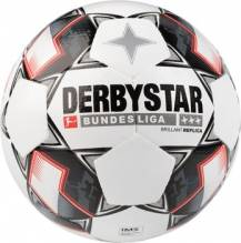 Fussball Derbystar Bundesliga Brillant APS Replica weiss Gr. 5